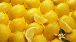 Juicy Lemons HD Desktop Background