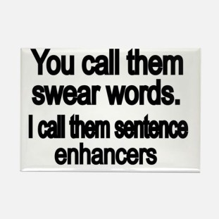 you_call_them_swear_words_rectangle_magnet